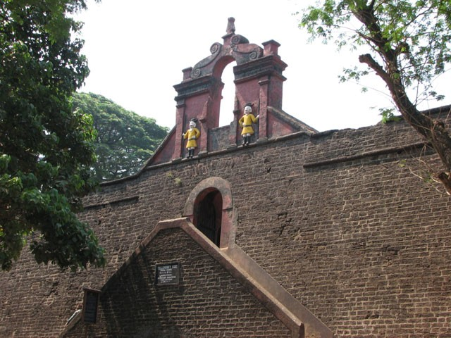 Thalassery Fort: historical monuments of kerala