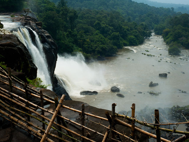Athirapally-waterfalls