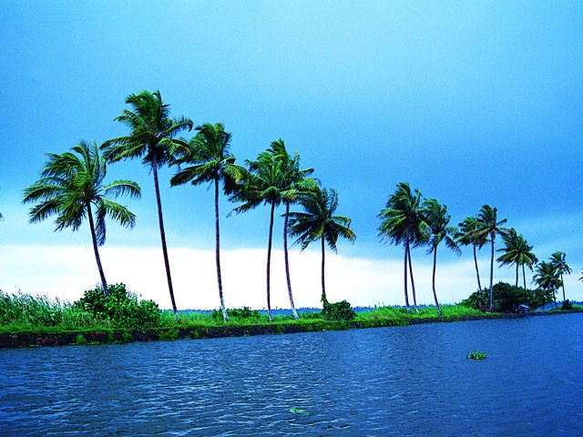 Kumarakom-Backwaters: places to visit in kerala in august