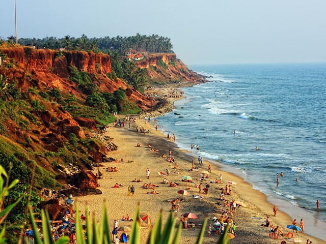Varkala: top places to visit in kerala in august
