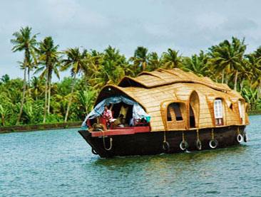 Beautiful Backwaters of Kerala