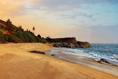 Bekal Beach in Kasaragod
